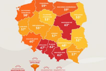 """Badanie Mastercard: Opolszczyzna i Mazowsze liderami na """"Mapie Polski bezgotówkowej"""""""