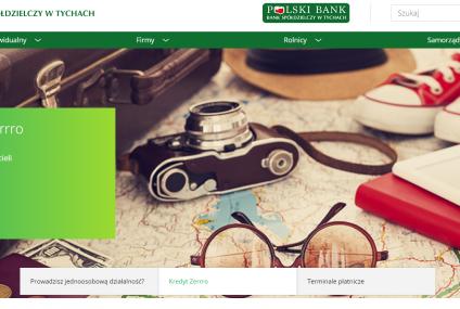 Bank Spółdzielczy w Tychach uruchomił nową stronę internetową w technologii RWD