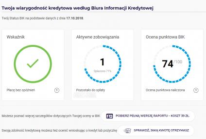 Status BIK sprawdzicie także na platformie Bancovo. Firmy nawiązały współpracę