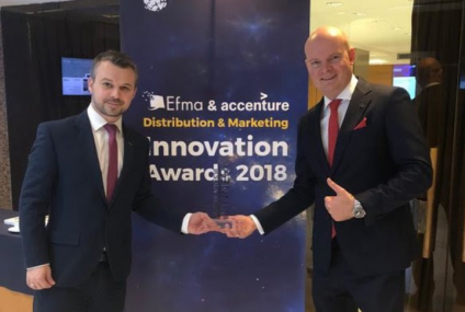 Aplikacja PeoPay laureatem nagrody EFMA-Accenture Distribution & Marketing Innovation Awards 2018