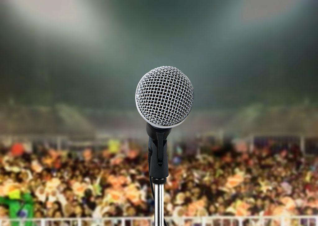 koncert mikrofon