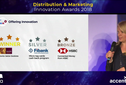 Konto Alior Banku ze złotem w konkursie EFMA-Accenture Distribution & Marketing Innovation Awards 2018