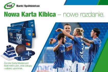 SGB ma gadżety klubowe dla posiadaczy karty Mastercard SGB-KKS Lech Poznań