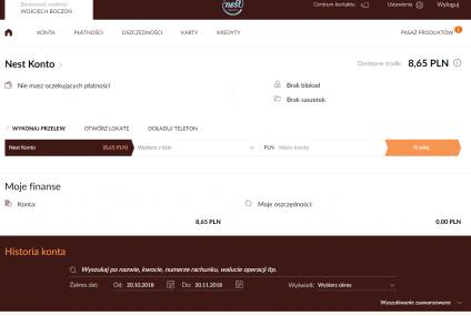 Tak wygląda nowa bankowość elektroniczna Nest Banku. Zdjęcia i recenzja