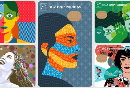BGŻ BNP Paribas wyda karty z wizerunkami kobiet. Trwa głosowanie na najciekawszy projekt