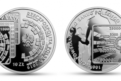 100-lecie powstania PKO BP. Nowa moneta kolekcjonerska NBP