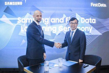 Samsung i First Data pracują nad rozwiązaniem zmieniającym smartfon w terminal do przyjmowania płatności