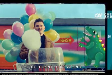 Nowa kampania Credit Agricole z Dawidem Podsiadlo