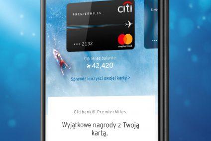 Nowa wersja aplikacji CitiMobile dla kart kredytowych Citi