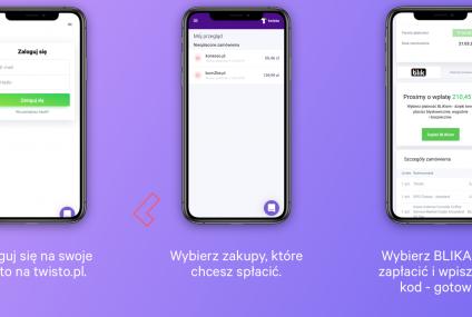 Twisto udostępnia swoim użytkownikom Blika i pracuje nad kartą wielowalutową