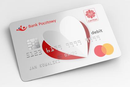 Bank Pocztowy i Caritas Polska wprowadzają wspólną kartę ułatwiającą pomoc potrzebującym