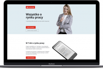 Jak Santander Bank Polska korzysta z technologii i wideo w outplacemencie? Case study