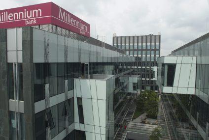 Bank Millennium po fuzji z Euro Bankiem zwiększył zasięg o 200 miast. Koszty połączenia niższe od planowanych