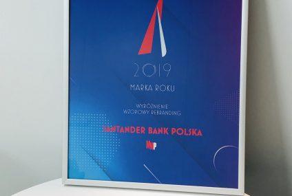 Santander Bank Polska z wyróżnieniem za rebranding