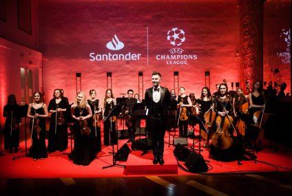 Santander Orchestra podczas piłkarskiego święta w Madrycie