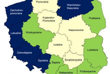 Największe ryzyko kolizji z pojazdem bez polisy OC jest w zachodniej Polsce oraz na Mazurach