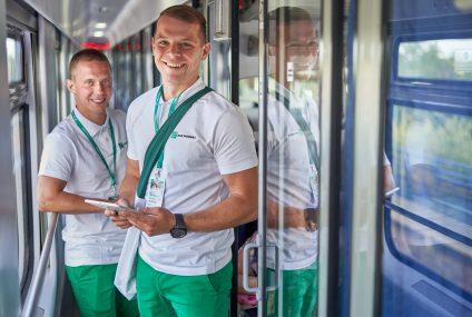 Mobilny Punkt Banku BNP Paribas zostanie w pociągach dłużej