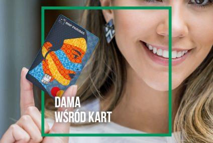 Dama wśród kart – nowa wertykalna karta kredytowa od BNP Paribas