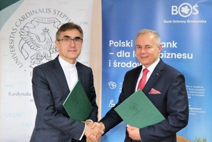 Współpraca BOŚ i UKSW na rzecz środowiska