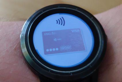 Ruszyły płatności Garmin Pay w ING. Dla klientów banku zniżka na zegarki