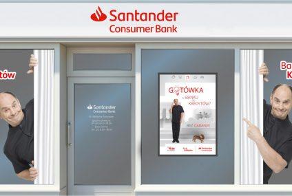 Santander Consumer Bank promuje się bez gadania