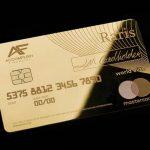 Jest pierwsza karta płatnicza ze złota