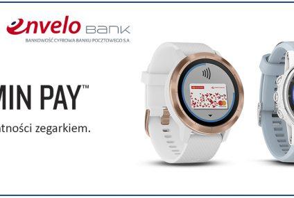 Płatności zegarkiem Garmin Pay są już dostępne w Banku Pocztowym