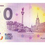 Powstał polski banknot 0 euro z warszawskimi zabytkami