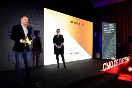 Grand Prix w konkursie Dyrektor Marketingu roku 2019 dla Artura Sikory z Santander Bank Polska