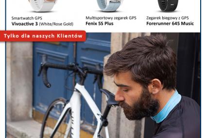 Wybrane modele zegarków Garmin dla klientów Banku Pocztowego tańsze o 30 proc.