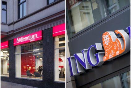 Millennium i ING mają najbardziej lojalnych klientów. Wyniki badania