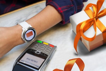 Płatności Garmin Pay dla kart kredytowych w ING