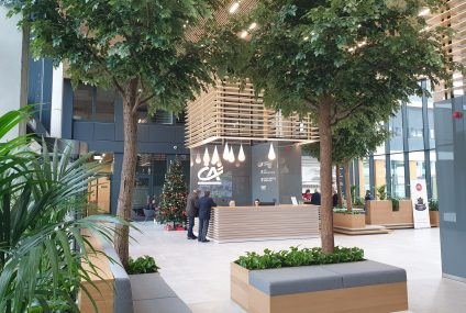 Credit Agricole przenosi główną siedzibę do ekologicznego biurowca