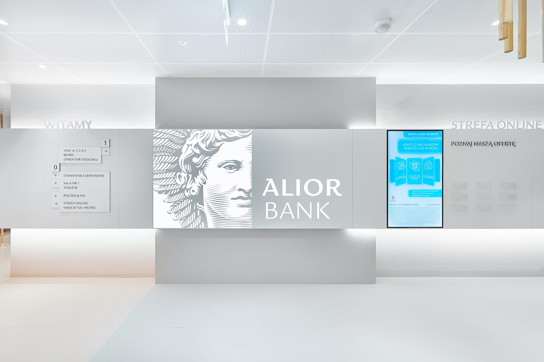 alior bank wnętrze
