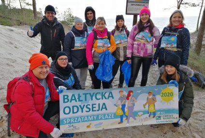 Ruszyła Bałtycka Odyseja – Credit Agricole sprząta bałtyckie plaże