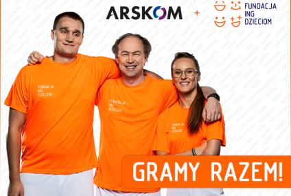"""Arskom z Fundacją ING Dzieciom realizuje program """"Pomarańczowa Siła"""" w olimpijskim wydaniu"""