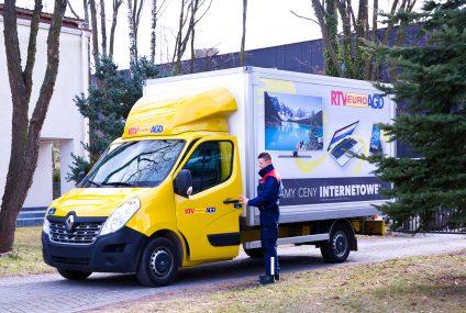 RTV EURO AGD wprowadziło możliwość płacenia kartą bezpośrednioprzy odbiorze zamówienia w domu
