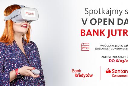 V Open Day w Santander Consumer Banku – kolejna szansa dla innowacyjnych start-upów