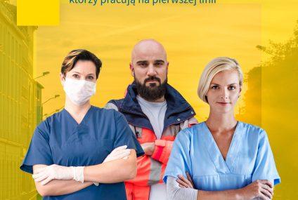 Aviva wspiera pracowników służby zdrowia zaangażowanych w walkę z koronawirusem