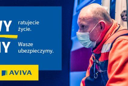Aviva bezpłatnie ubezpieczyła życie 29 tysięcy medyków