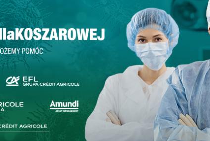 Grupa Credit Agricole wspiera szpital zakaźny we Wrocławiu