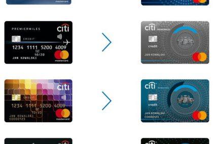 Citi Handlowy wprowadza nowe wzory kart kredytowych