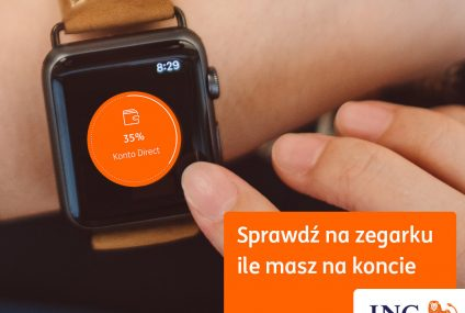 Moje ING na Apple Watch