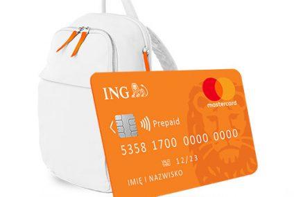 ING wprowadził do oferty kartę przedpłaconą dla dzieci poniżej 13. roku życia