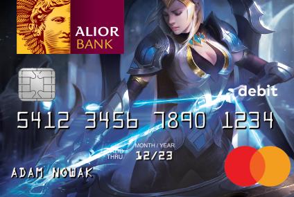Alior Bank wprowadza kartę dla fanów gry League of Legends