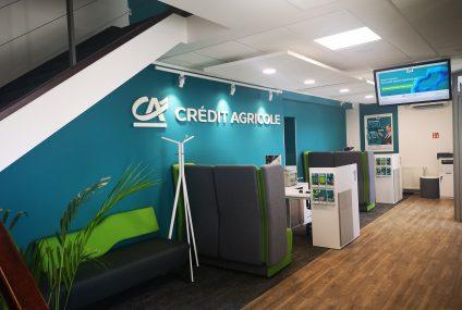 Credit Agricole otwiera pierwszą placówkę bezgotówkową