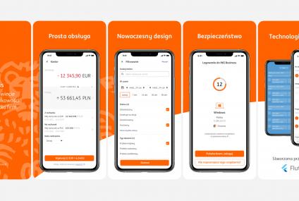 ING udostępnił klientom firmowym nową aplikację ING Business