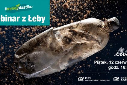Łebinar z Łeby i Bałtycka Odyseja – Credit Agricole kontynuuje kampanię #mniejplastiku