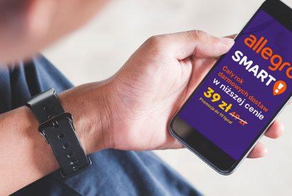 Allegro obniża cenę rocznego pakietu Smart! przez 30 dni