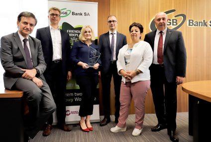 """SGB-Bank SA wyróżniony nagrodą """"Friendly Workplace 2020"""""""